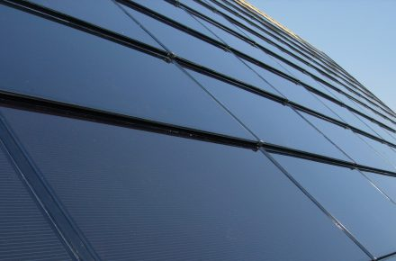 Volvo Centra-Garage Photovoltaikanlage Basel
