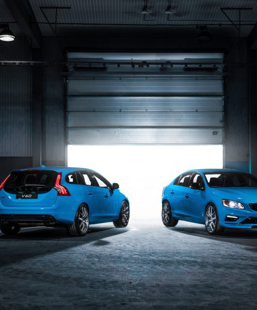Volvo Modell V60 - Ausbau des Volvo Polestar-Programms