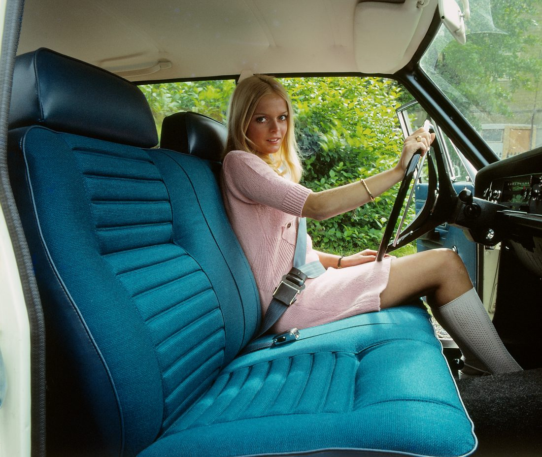 Volvo Oldtimer Modell 142 Innenraum