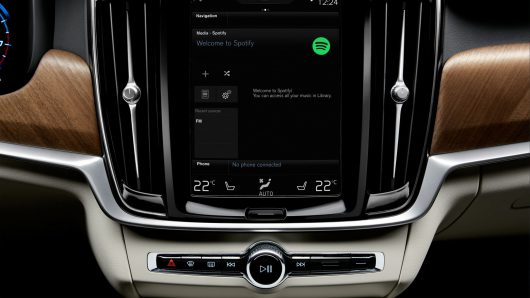 Volvo mit Spotify-Integration