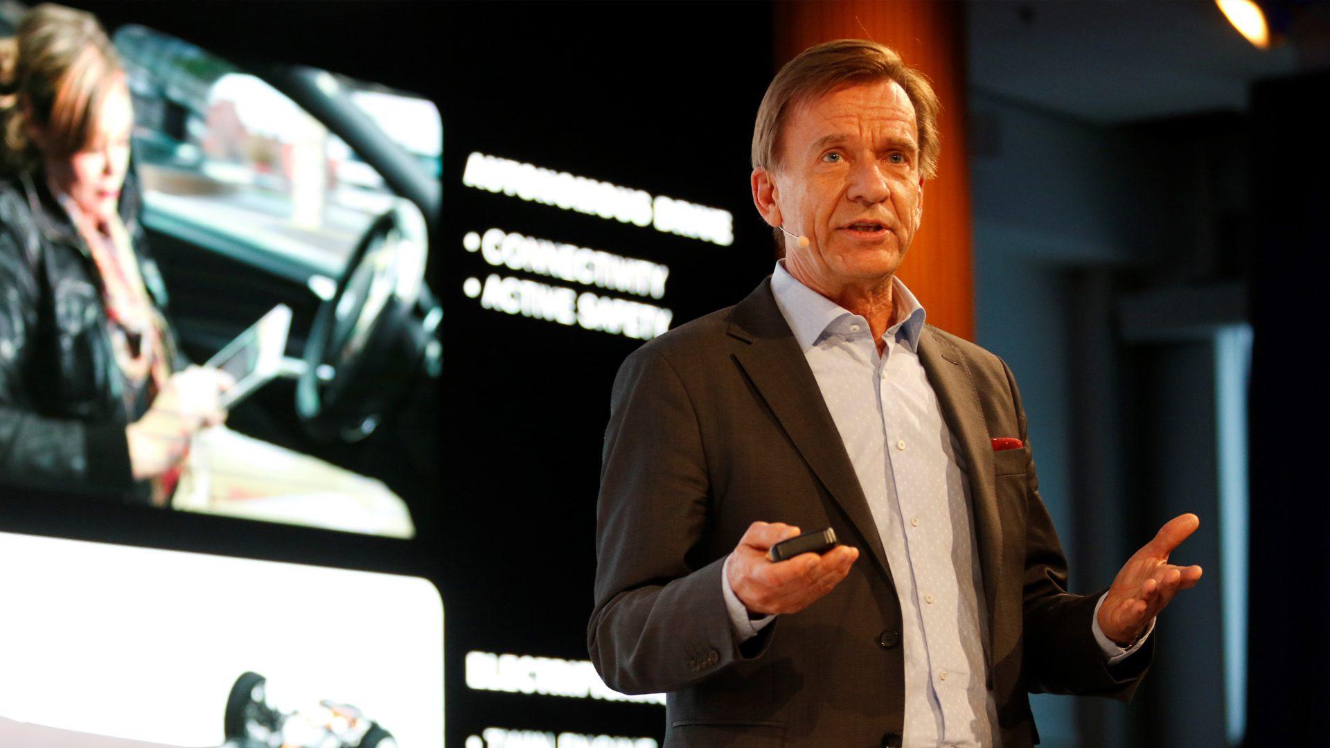 Volvo's Konzept zur Volvo's Entwicklung autonomer Fahrzeuge