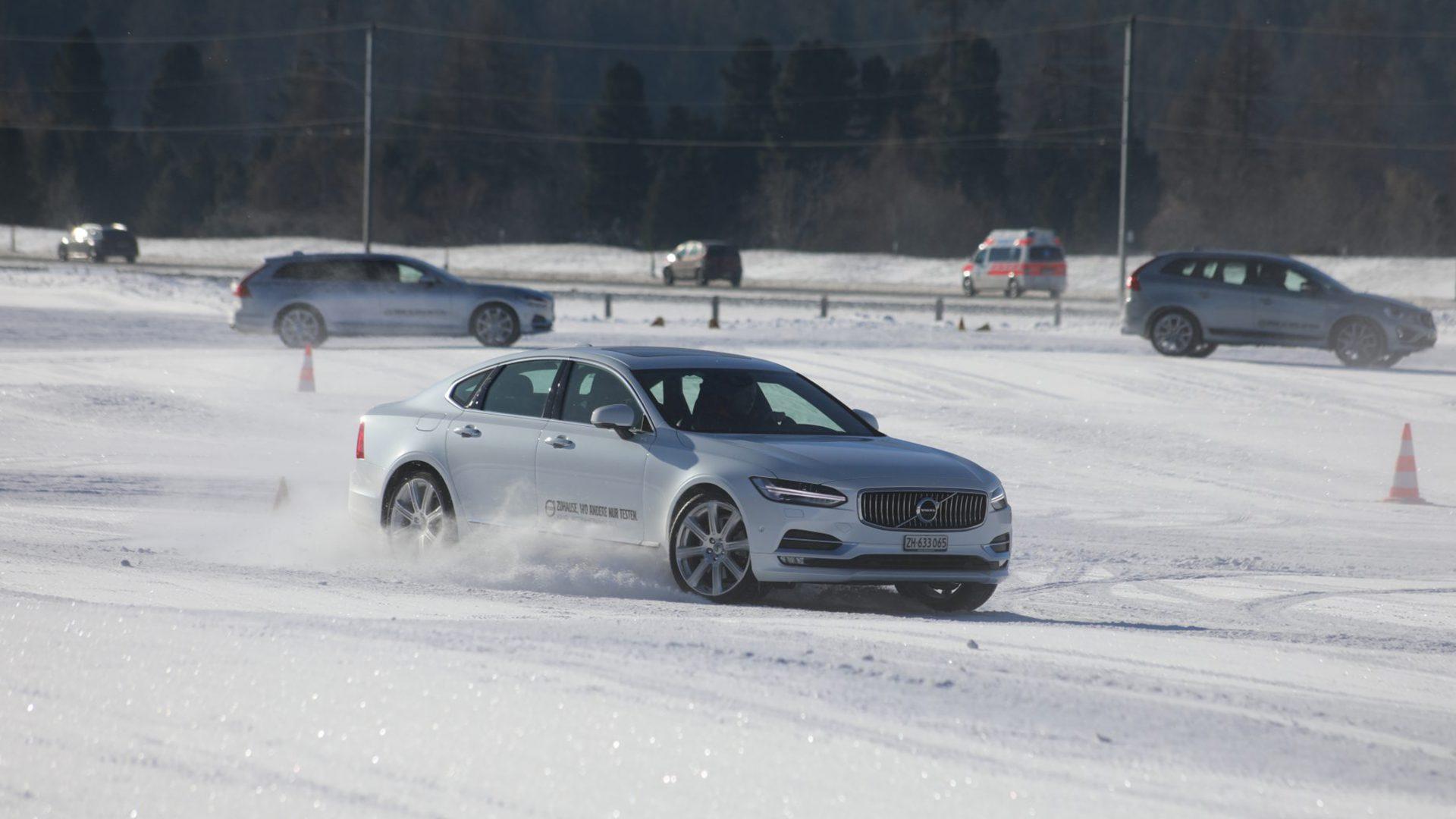 Volvo Winterfahrtraining Samedan 2017 15