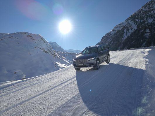 Volvo Winterfahrtraining 2017 Samedan Graubünden Switzerland