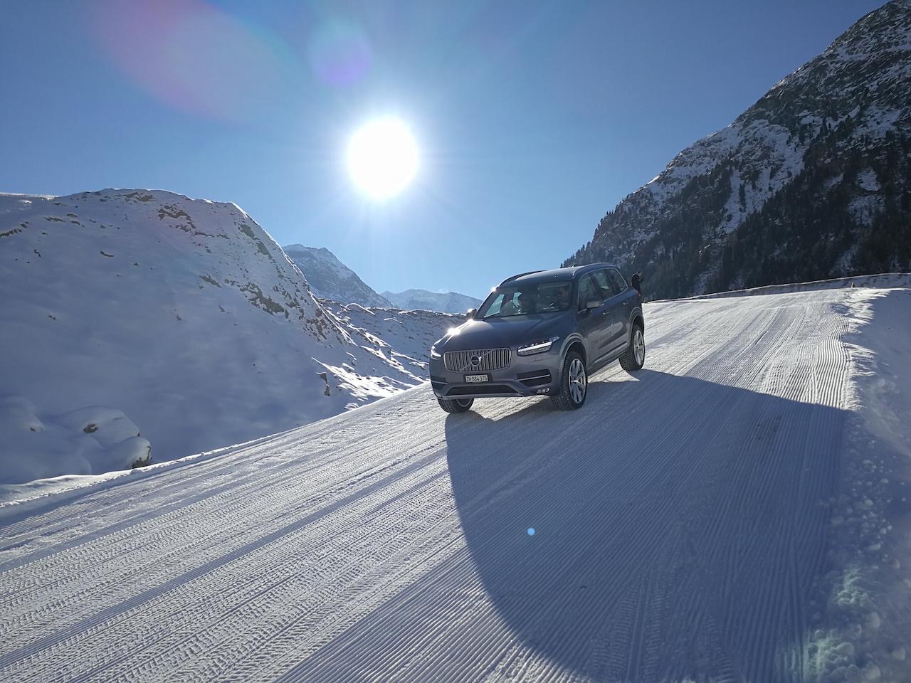 Volvo Winterfahrtraining Samedan 2017 5