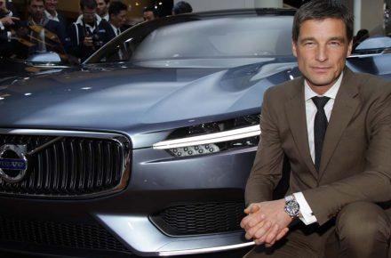 Award für bestes Design an Volvo Chef-Designer 3