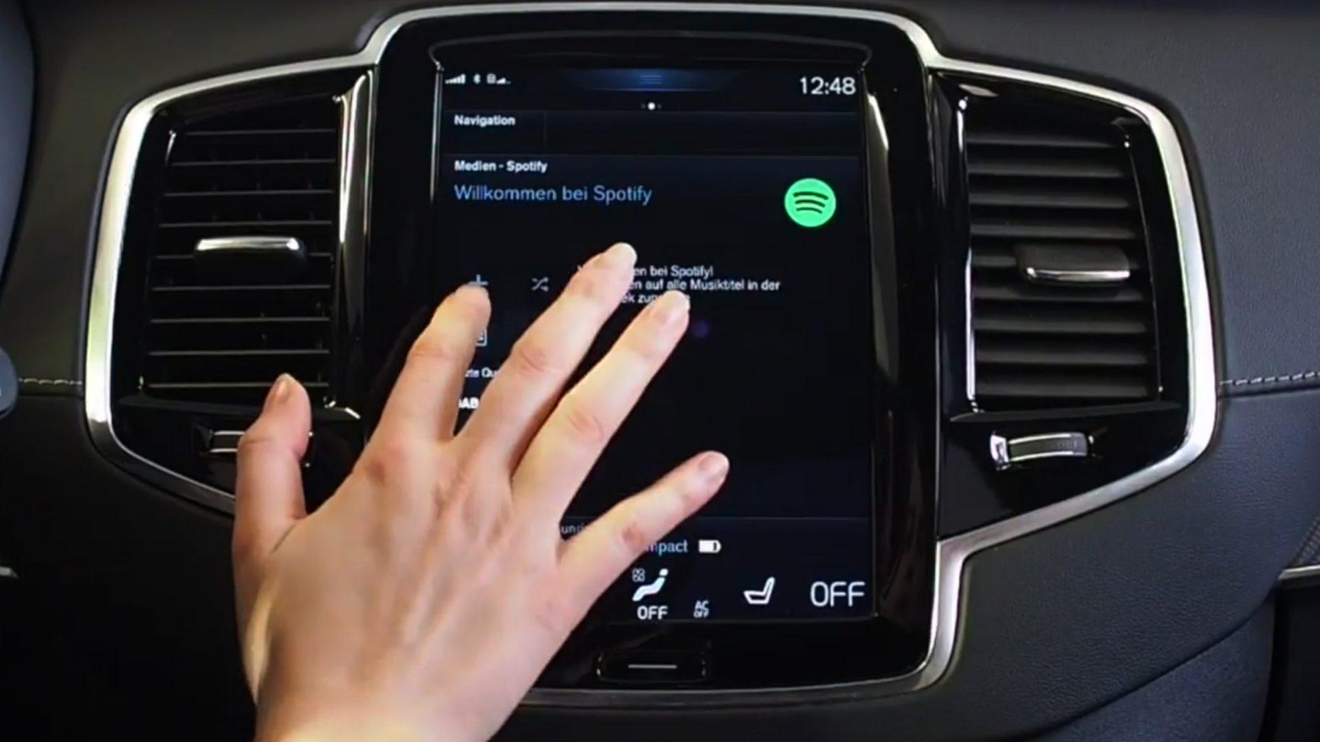 So nutzen Sie Spotify in Ihrem Volvo 2