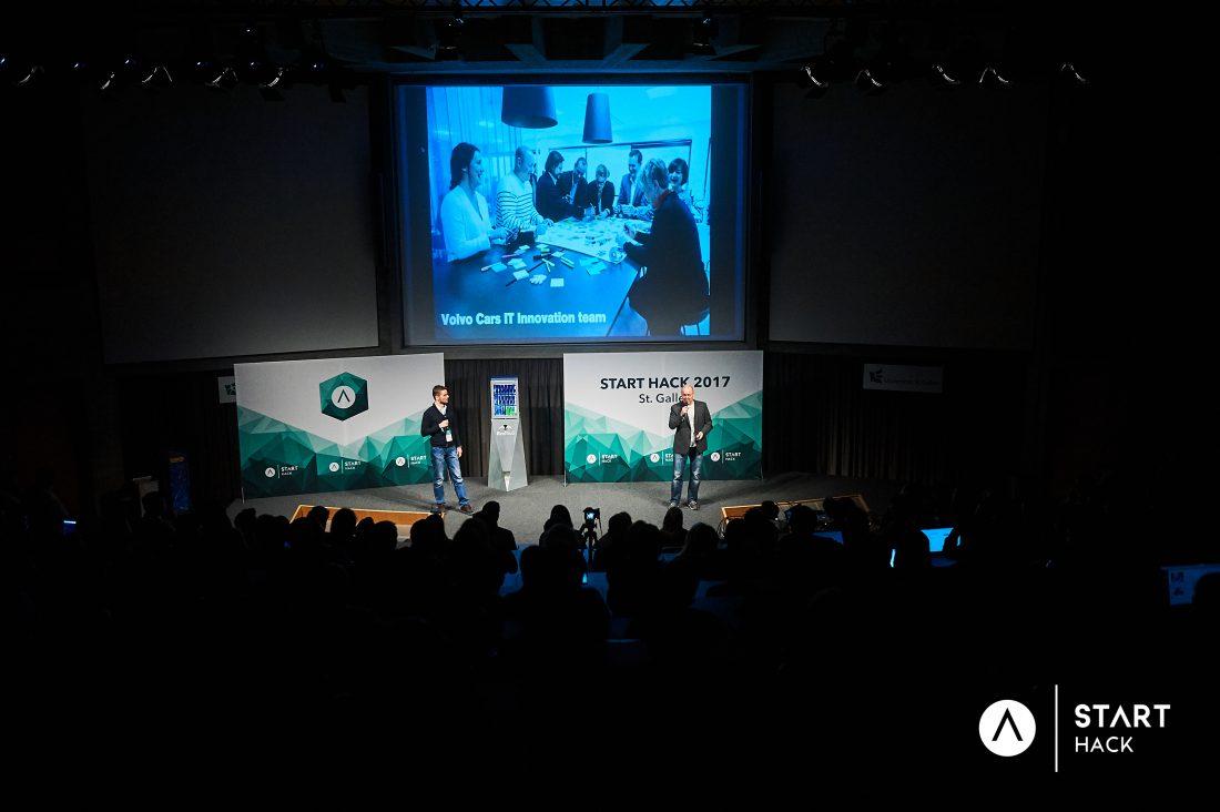 START Hack 2017 - Volvo war dabei 1