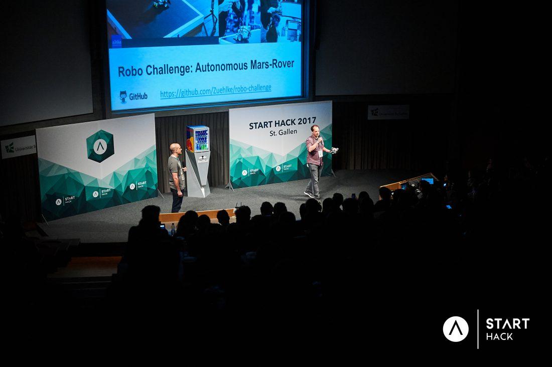 START Hack 2017 - Volvo war dabei 8