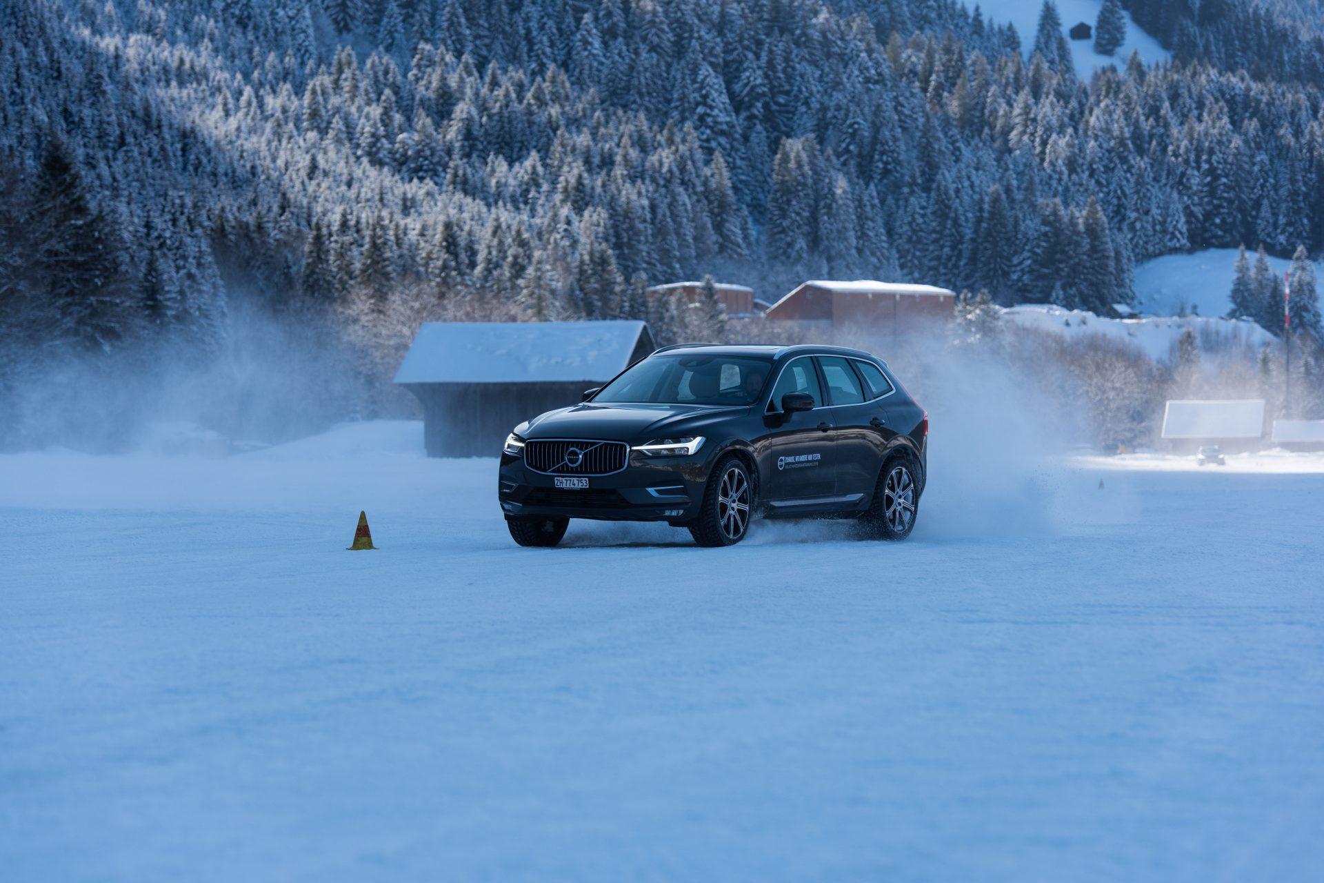 Winterfahrtraining mit Volvo 3
