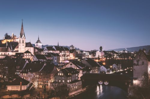 architecture-baden-blue-hour-167692