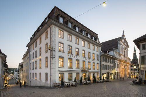 Hotel La Couronne im Herzen der Altstadt von Solothurn