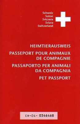 Passaporto per animali da compagnia svizzero