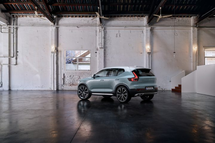 "Der Volvo XC40, ""Car of the year 2018"", portraitiert vom radical-mag."