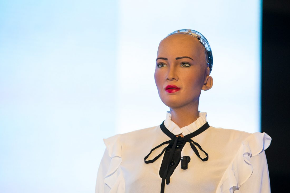 Volov Art Session 2018_Sophia the Robot_01