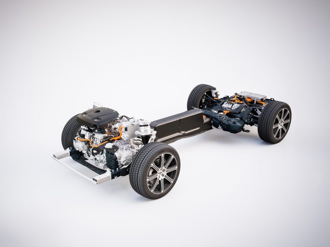 The new Volvo XC60 – T8 powertrain