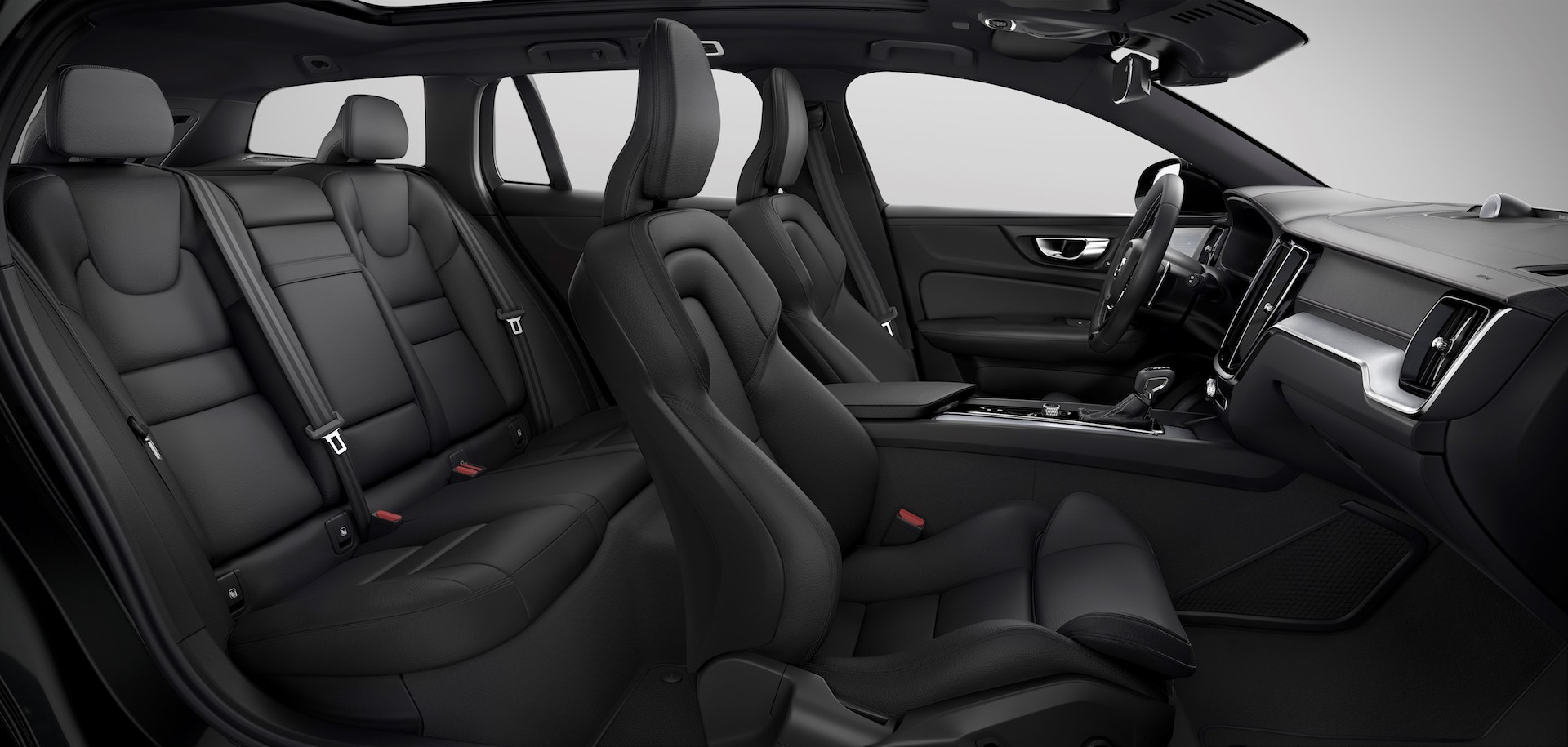 New Volvo V60 R-design interior