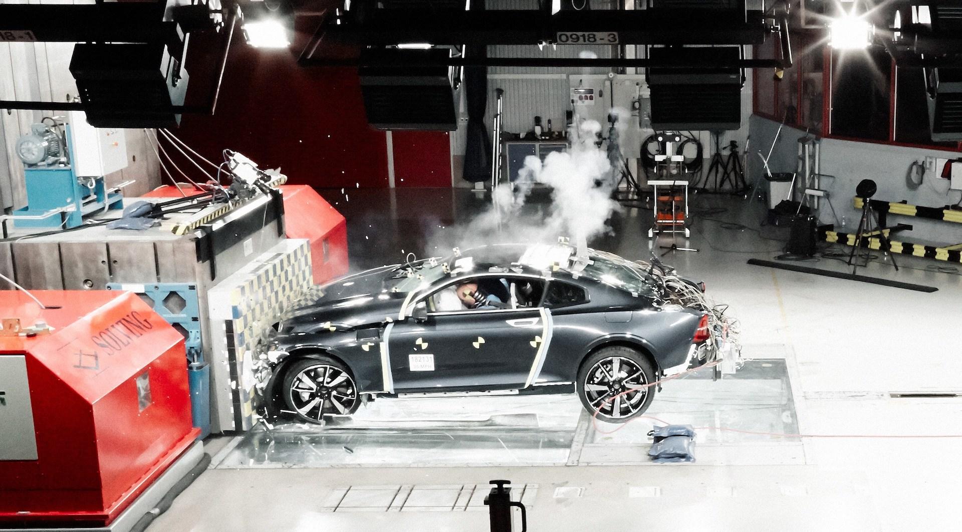 Volvo Polestar 1 Crashtest