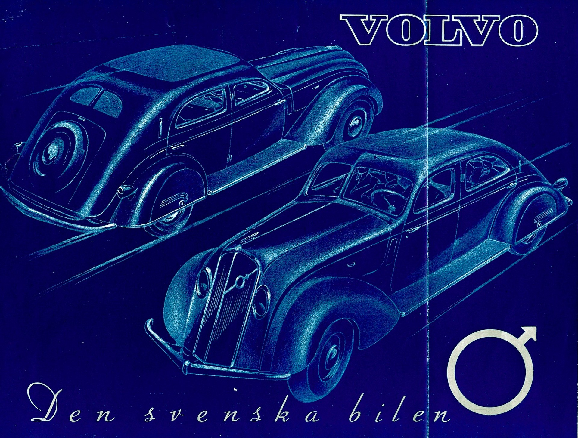 PV36 from 1934, sketch for broschure