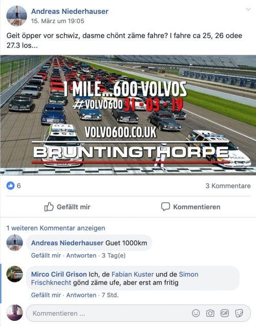 Volvo Fans Schweiz
