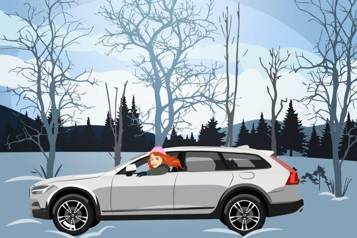 Kafi Freitag im Volvo
