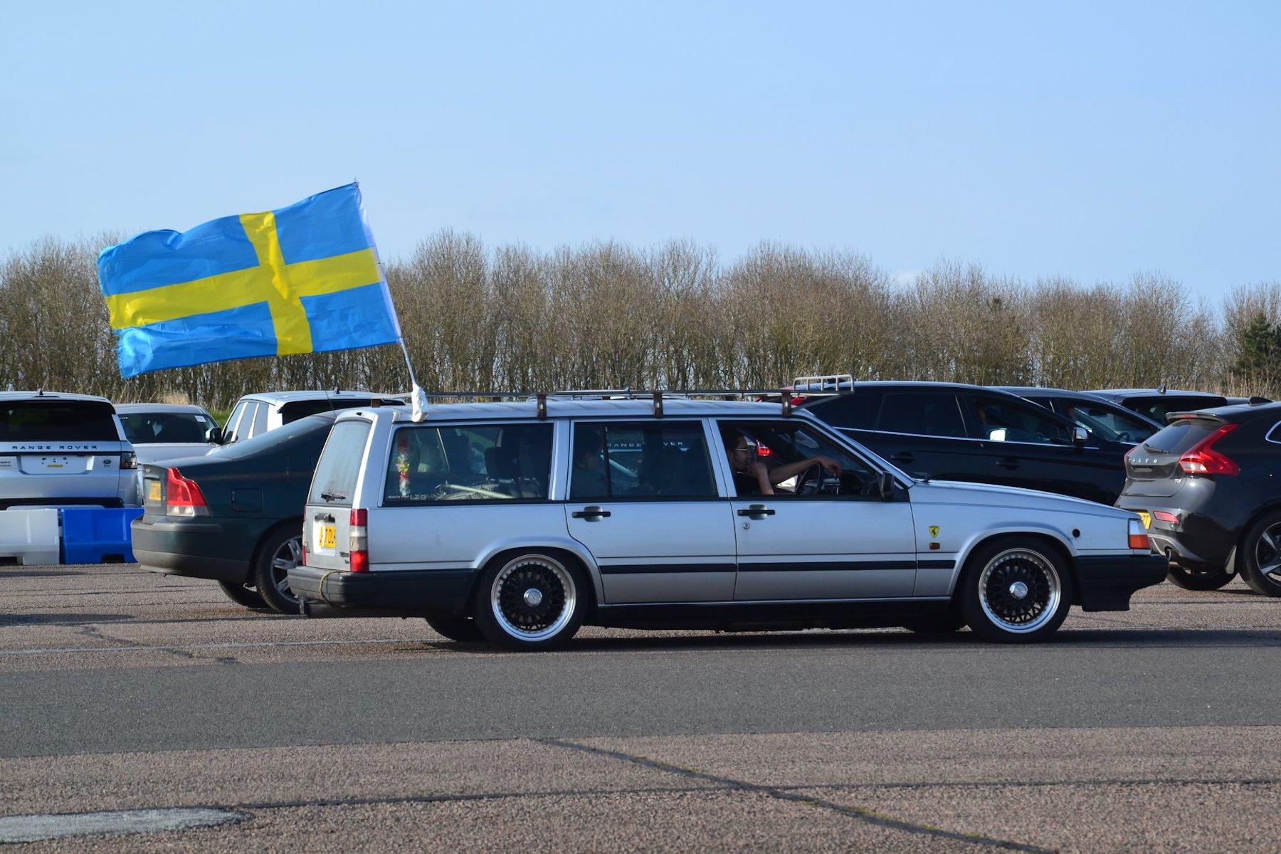 Der Guinessbuch-Rekordversuch des Volvo 600 ist geglückt!