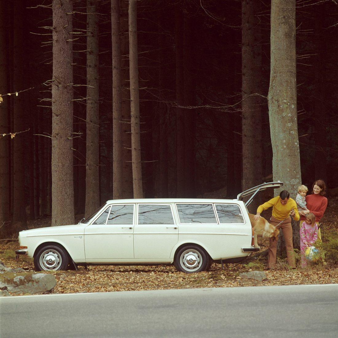 Volvo etablierte sich mit dem 145 zu einem der grossen Kombihersteller.