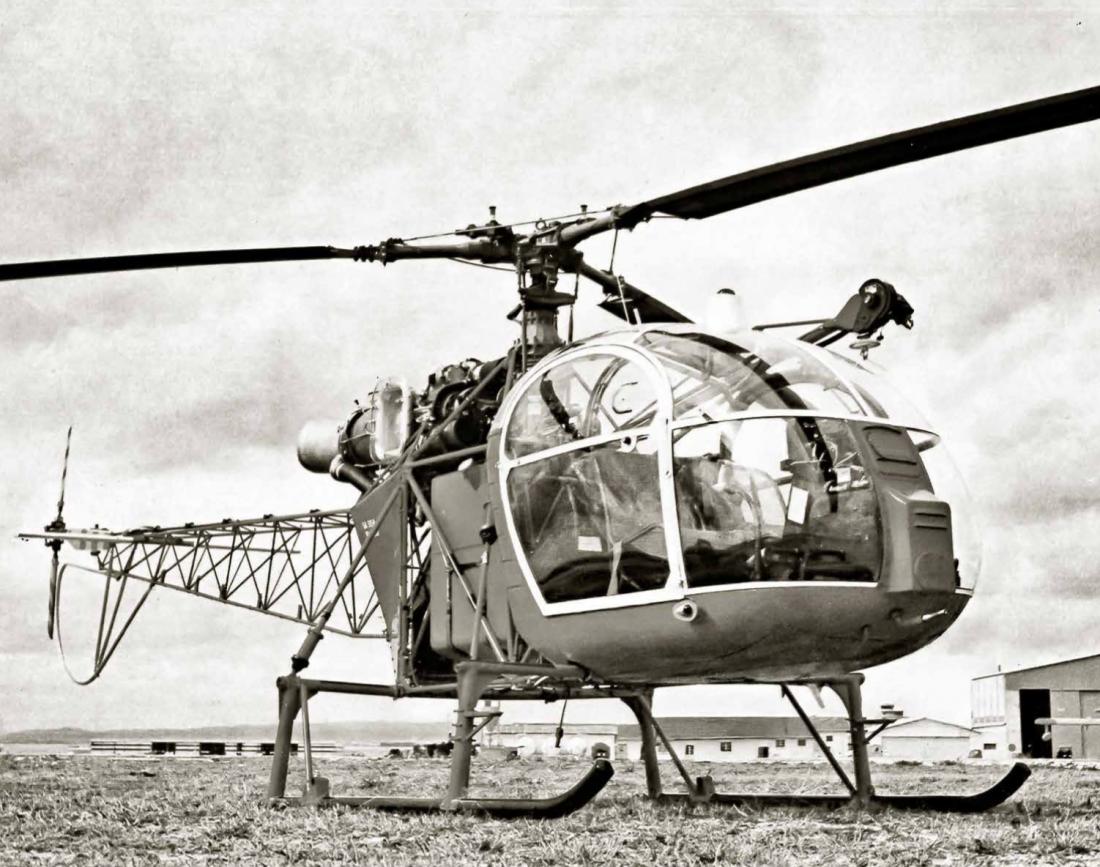 Aérospatiale SA-315 B Lama