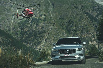 Volvo und Air Zermatt