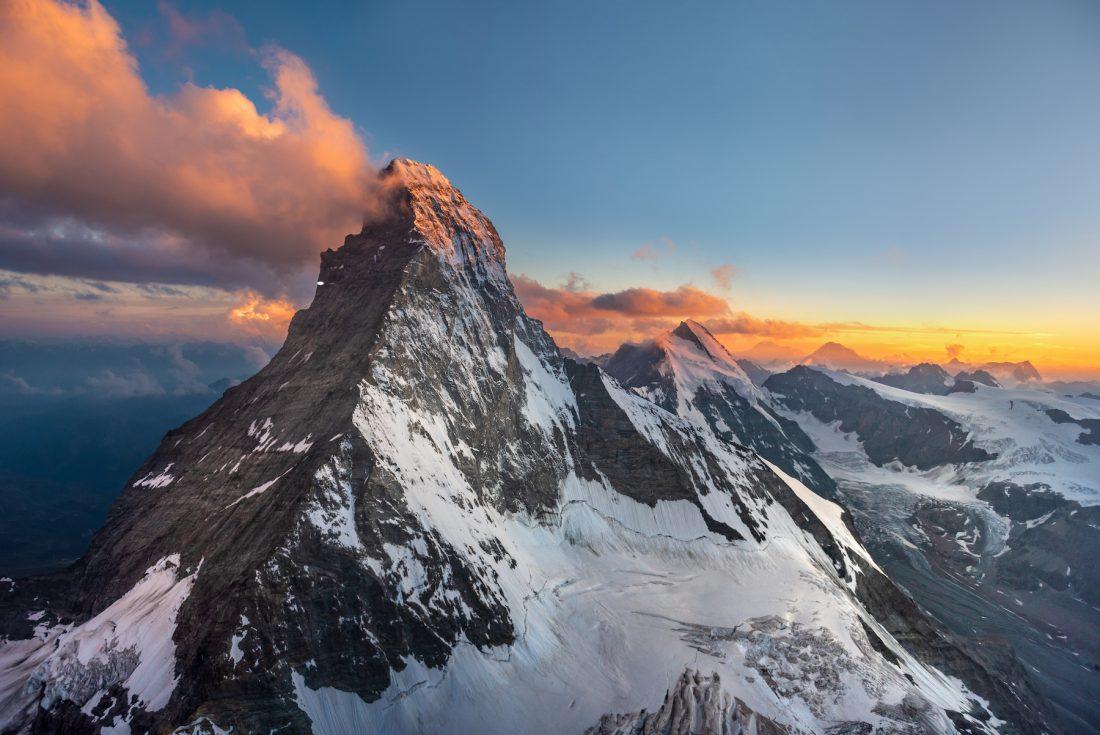 Matterhorn in der Abendsonne