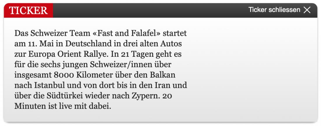 """Mit dem Elch in den Orient: Ein Volvo-Team an der """"Europa Orient Rallye"""""""