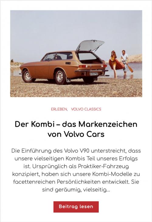 Ist der P1800 ES der schönste Volvo aller Zeiten?