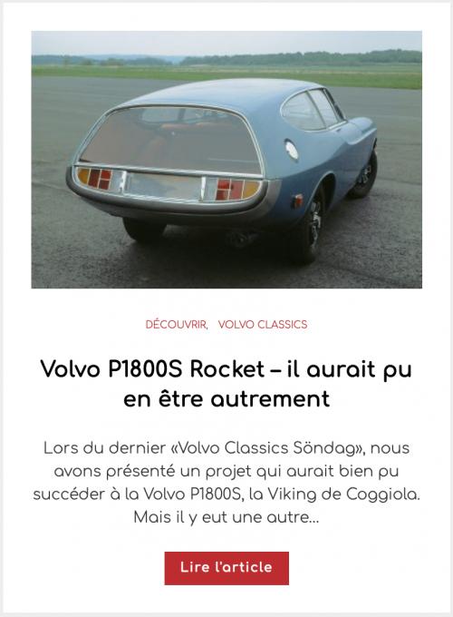 Volvo P1800S Rocket – il aurait pu en être autrement
