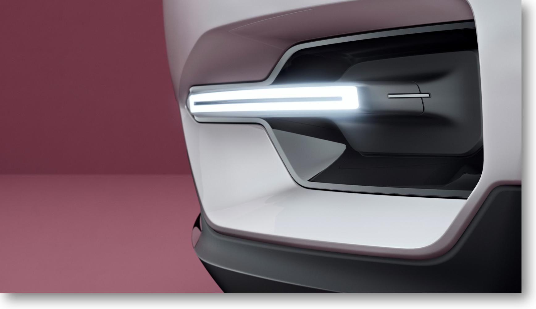 Die Studie des Volvo XC40 – das Concept 40.1
