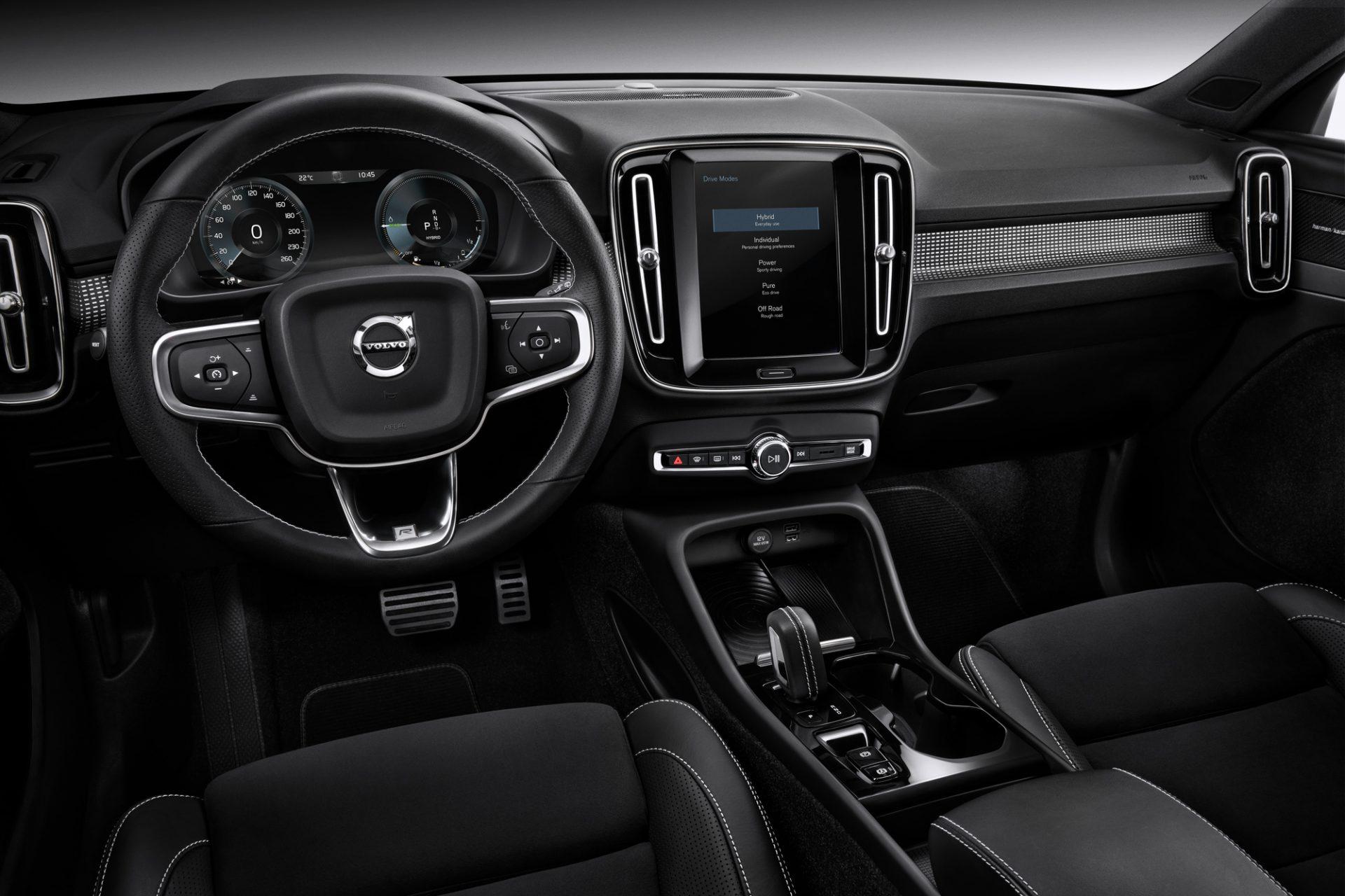 Die Kreativität des Volvo XC40 kommt aus dem Innern
