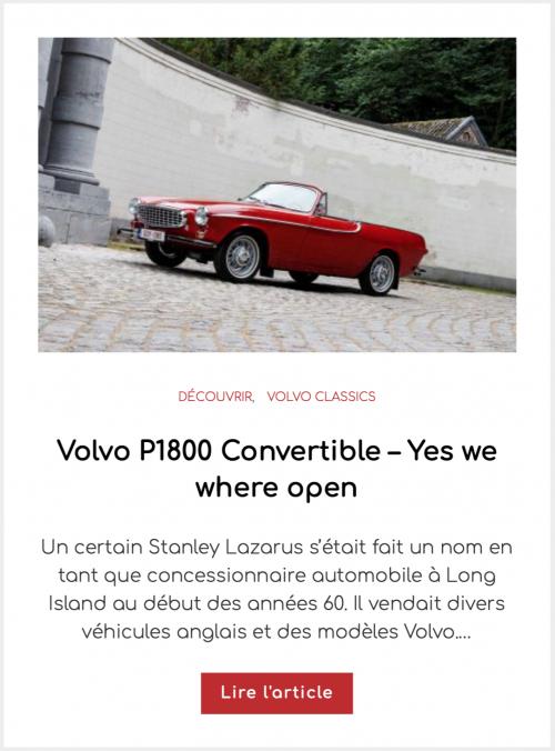 Volvo P1800 Convertible