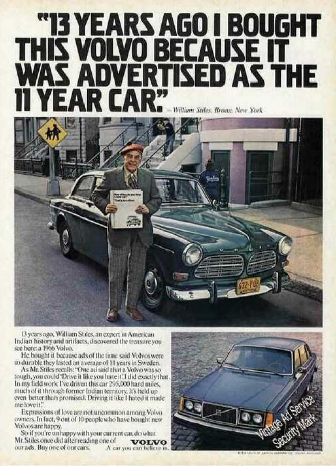 Volvo Werbung