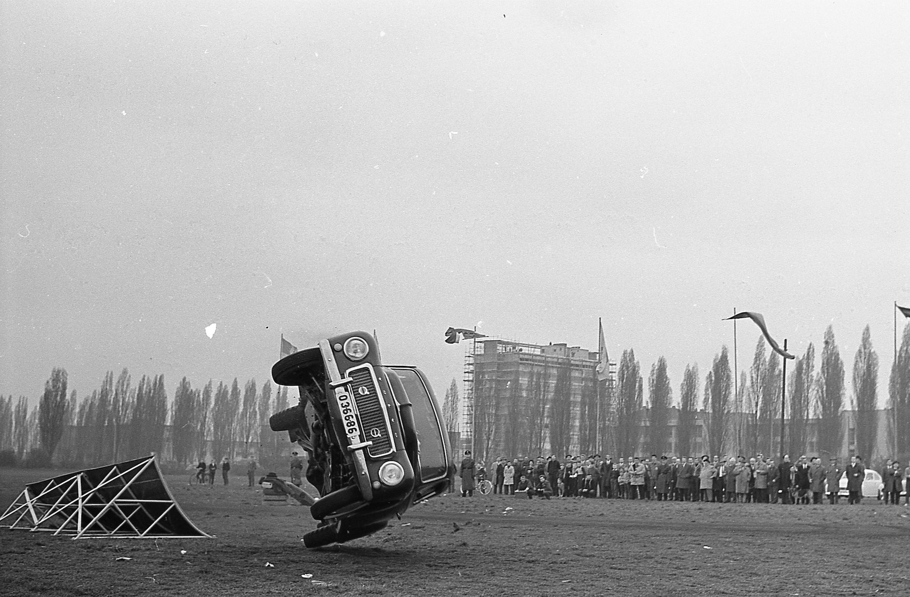 Die dramatische Demonstrationsfahrt von 1959