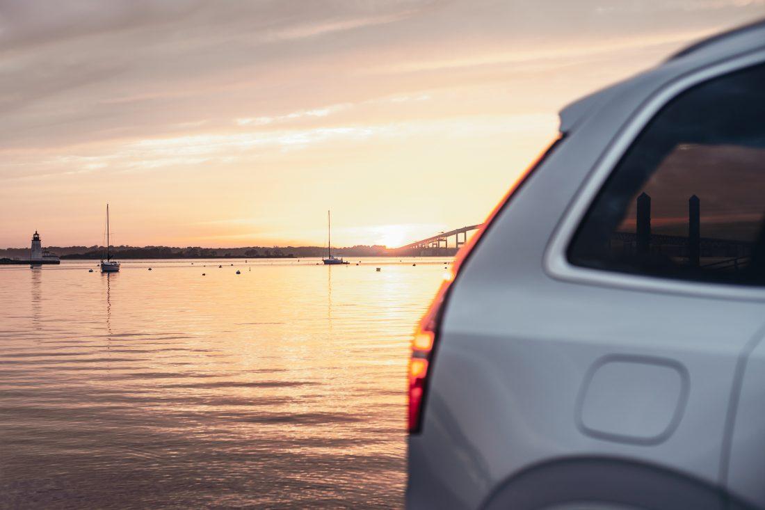 Dreipunkt-Sicherheitsgurt Volvo