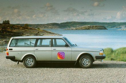 Volvo 240 Instagram