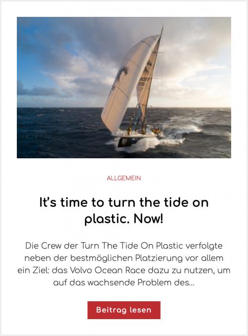 Volvo Nachhaltigkeit Volvo Ocean Race