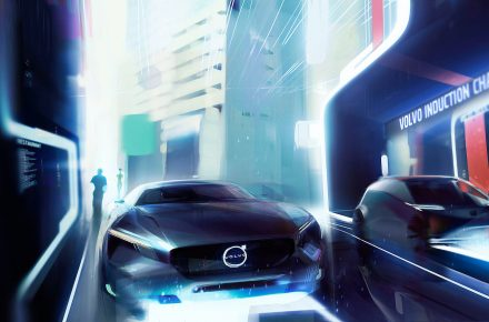 Light version-Volvo Cars vision of an electric