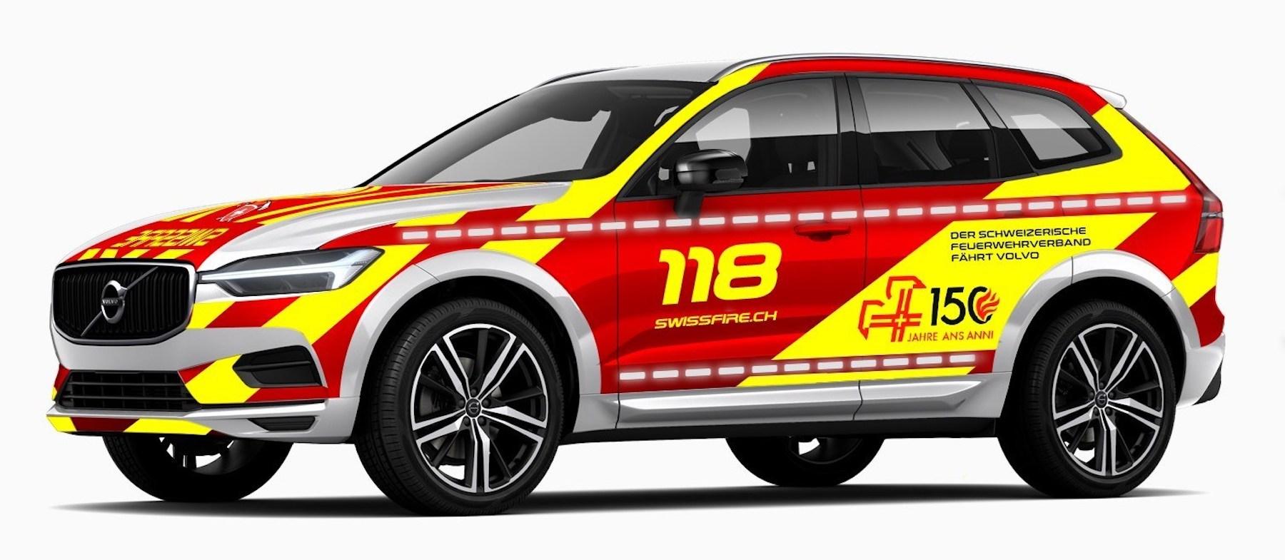 Volvo XC60 Schweizerischer Feuerwehrverband