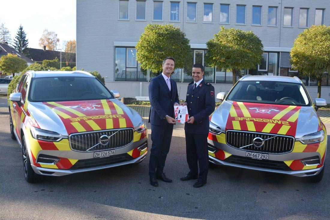 Der Schweizerische Feuerwehrverband fährt jetzt Volvo