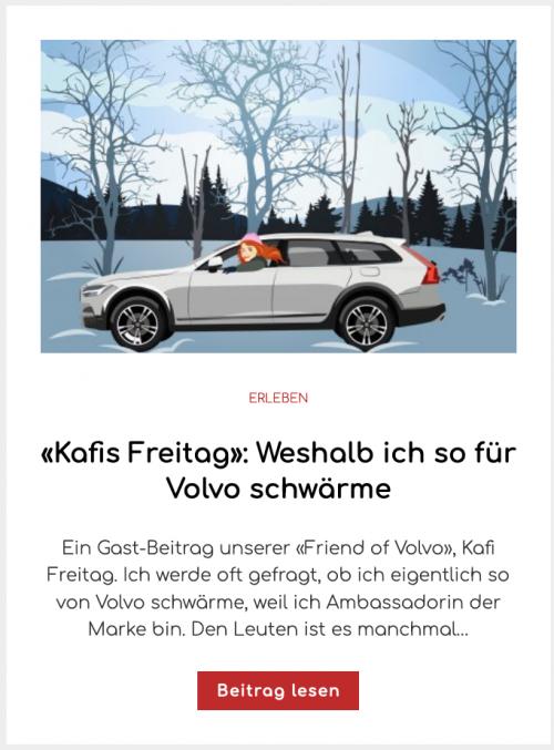 «Kafis Freitag»: Weshalb ich so für Volvo schwärme