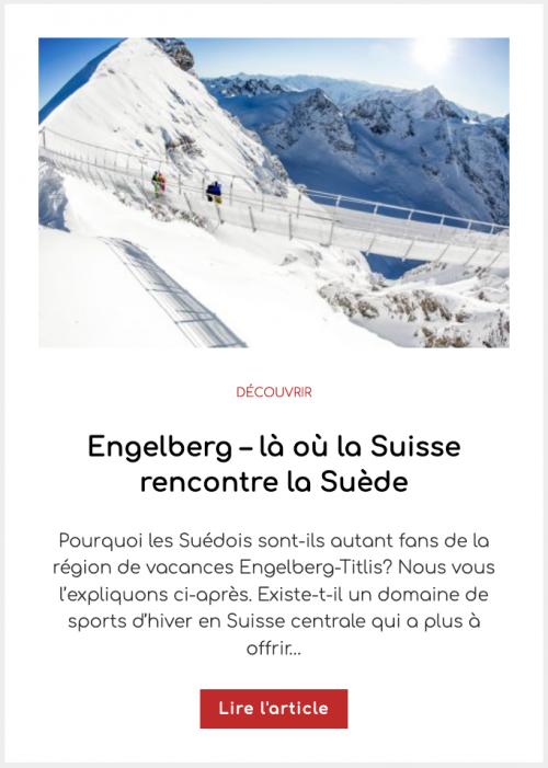 Engelberg – là où la Suisse rencontre la Suède