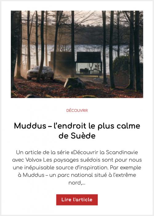 Muddus – l'endroit le plus calme de Suède