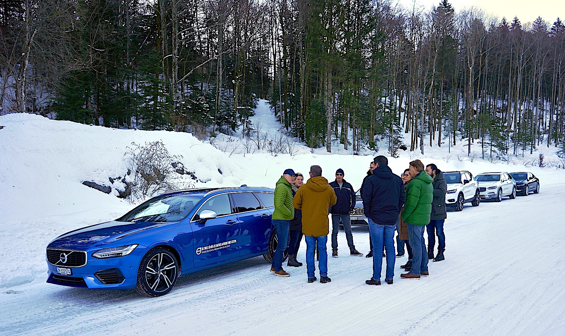 Fahrspass mit Sicherheit: Volvo Winter Driving Experience 2020
