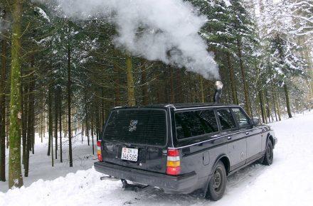 Volvo 240 mit Oven