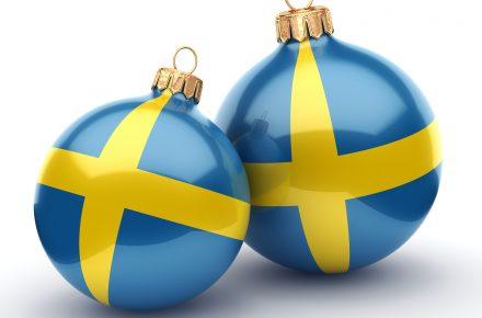 Volvo Schweden Weihnachten