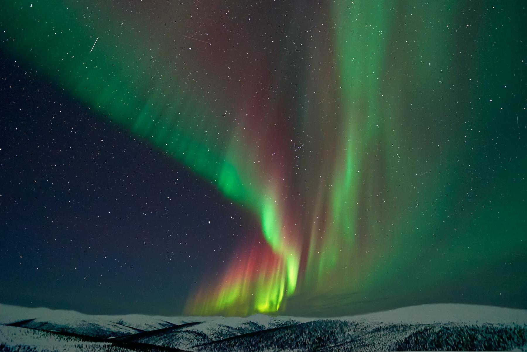 Aurora Borealis – Les lumières magiques du Nord